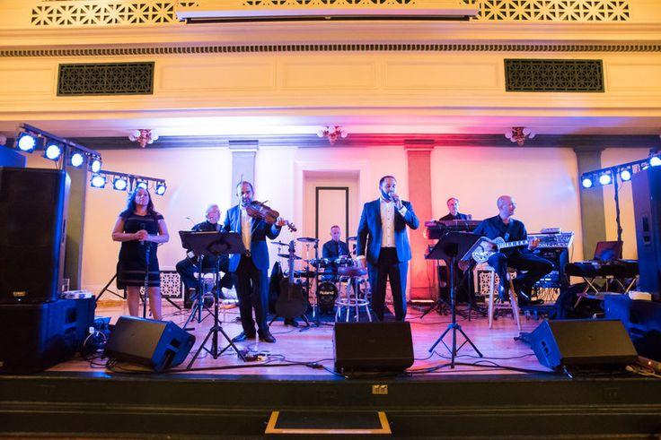 Elaina & Brian | Soldiers & Sailors Museum| Grand Ballroom | Pittsburgh Wedding | Fall Wedding | October Wedding | Rania's Catering | Goldstein Photography | Grey Phoenix Lighting | Atlantis of Philadelphia Band | Greek Wedding |