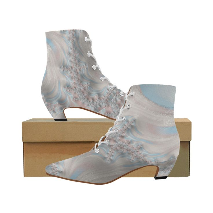 #Flying Above the #Clouds #fractals #Womens #PointedToe #LowHeel #Booties   #abstracts #digitalart #sale #new #designer #fashion #Stylists #footwear #shoes #ladies #vintagelook #oldfashioned #ArtsAdd