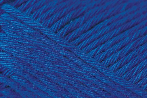 Baby yarn cotton soft royal blue colour 50 g 125m for knitting needle or crochet hook size 3.5-4 colour code 038 by PurpleValleyYarn on Etsy
