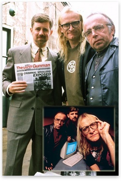 The Lone GunmenI loved when these guys were on the x-files