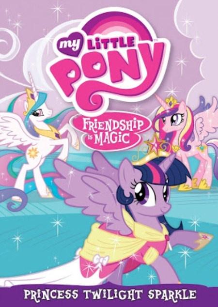 Keep Calm Bronies My Little Pony: Friendship Is Magic DVD Shows Alicorn Princess Twilight Sparkle