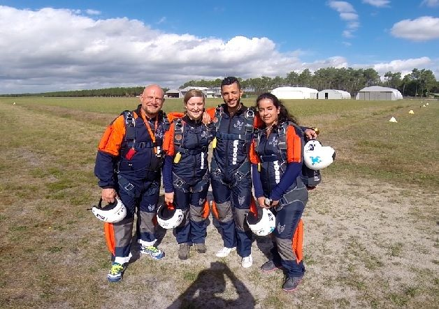 Airboss students