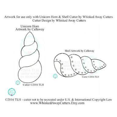 Resultado de imagen para cuerno unicornio molde | useful | Unicorn ...