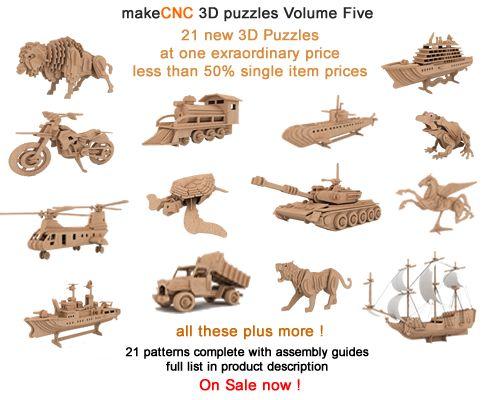 3D Puzzles Volume V