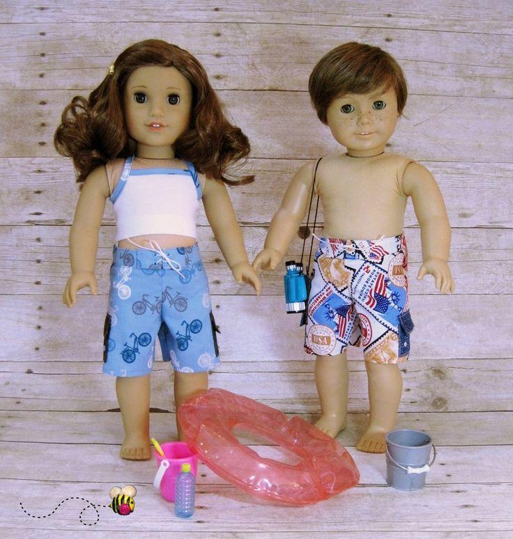 17 Best Images About American Girl Doll Swimwear Bikini On