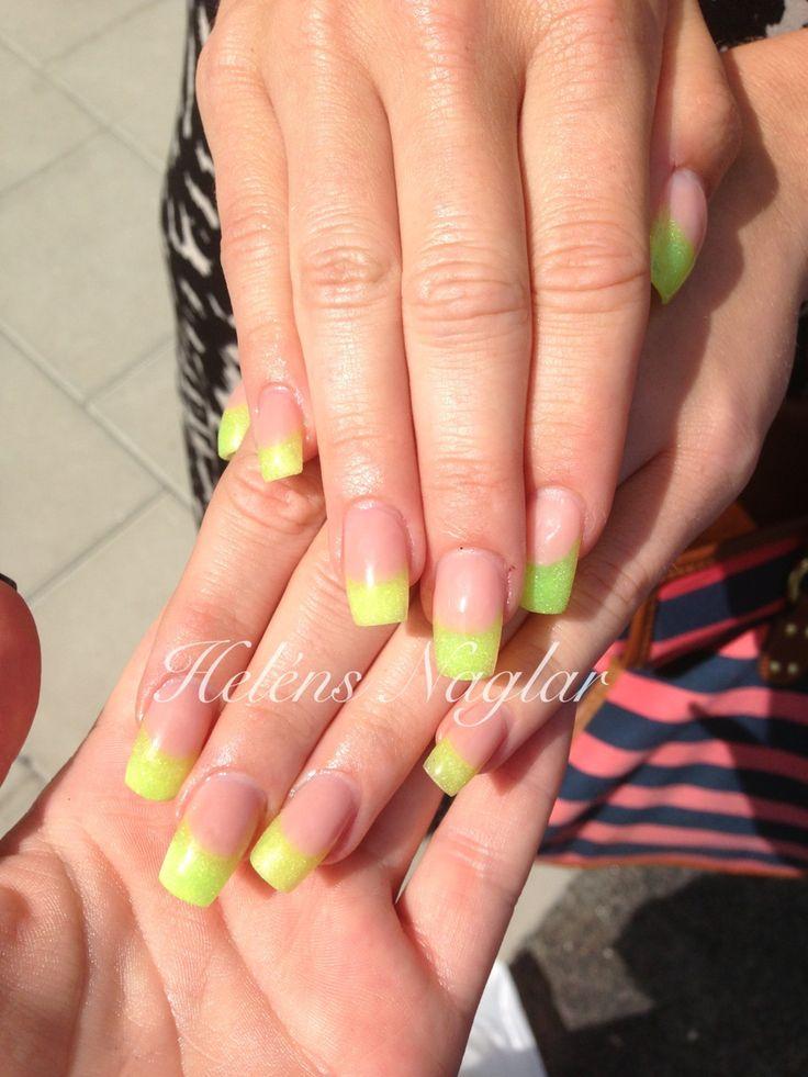 Neon yellow!