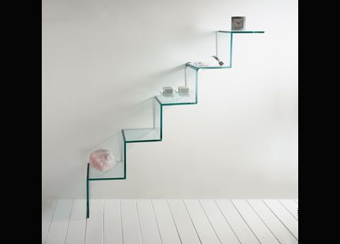 Tonelliu0027s Scala Del Cielo Glass Shelf (or U0027ladder To The Skyu0027).