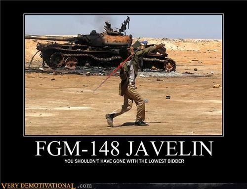 Fgm 148 Javelin Funny Very Demotivational