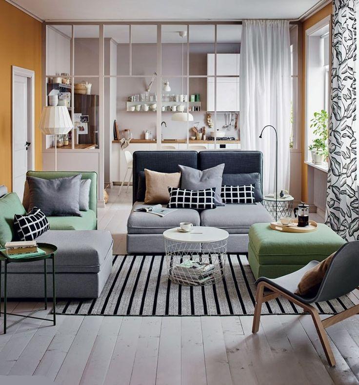 Salon cocooning : 10 idées pour créer un salon cosy et chaleureux en 2020   Aménagement petit ...