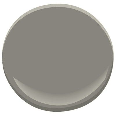 Living room paint idea #2: A dark or medium dark gray - Benjamin Moore Chelsea Gray HC-168