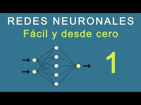 1.- Redes Neuronales: Fácil y desde cero - YouTube