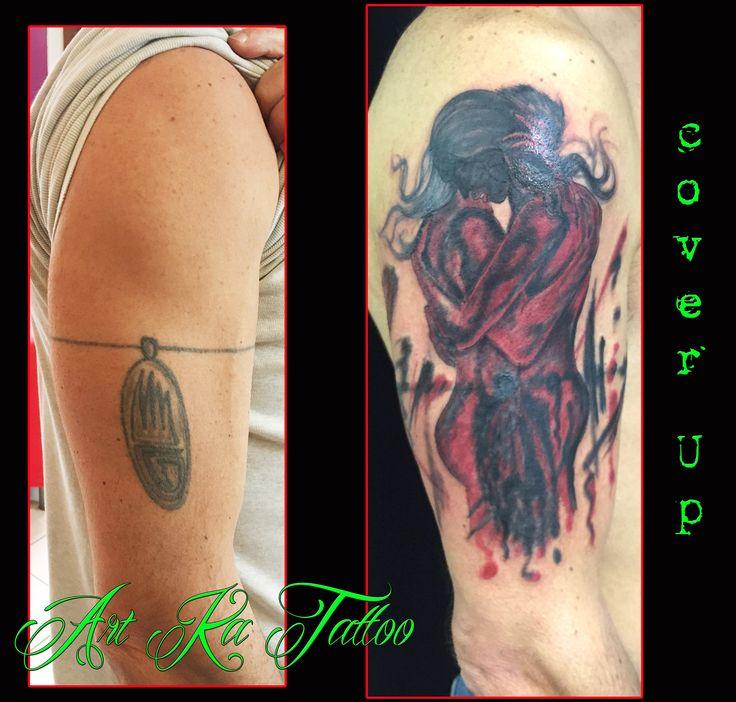 #coverup #artka #artkatattoo #tattoo #tatuaggio #coperturatattoo #blackandred #kattiusciacavaliere #pinerolo #pinerolotattoo #torino #torinotattoo #piemonte #pinterest #pinteresttattoo