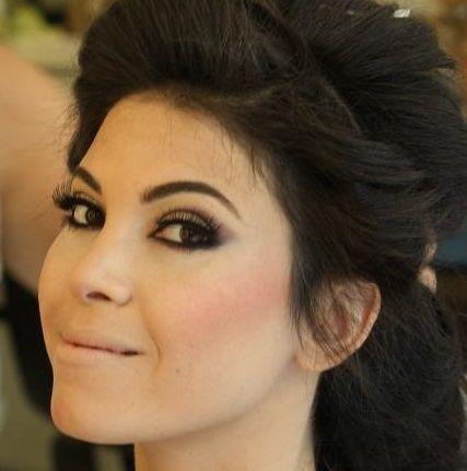 black and hair bun