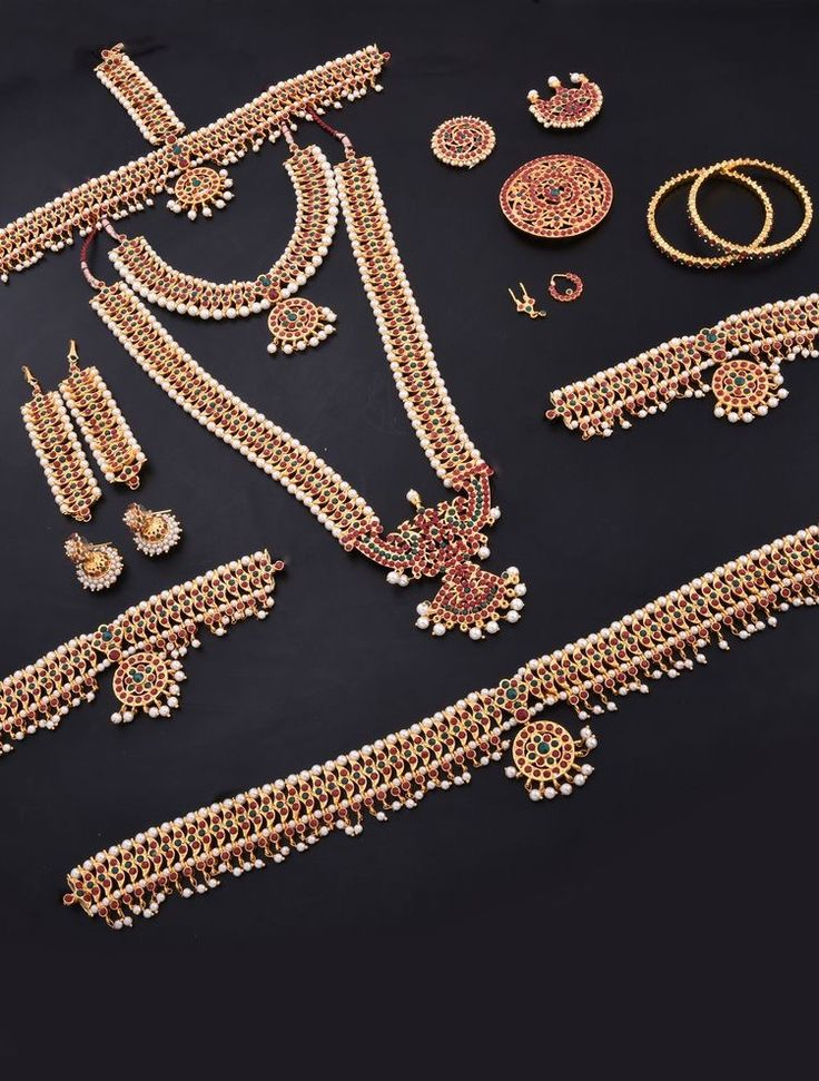 Antique Bharatanatyam Dance jewellery set To order Whatsapp +919849713635