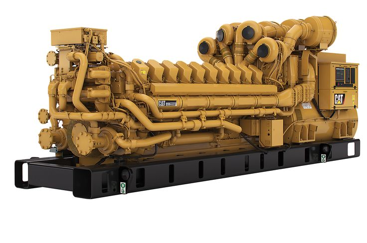 Caterpillar C175 20 Diesel Engine Photo 1