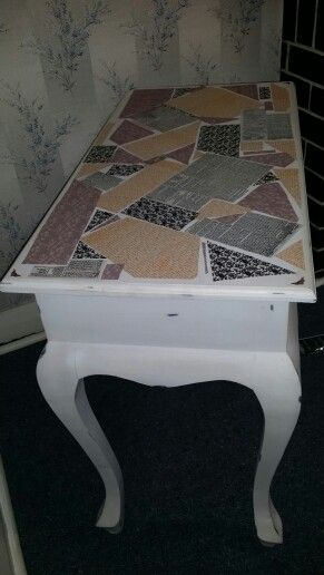 decoupage to cover and old buffet