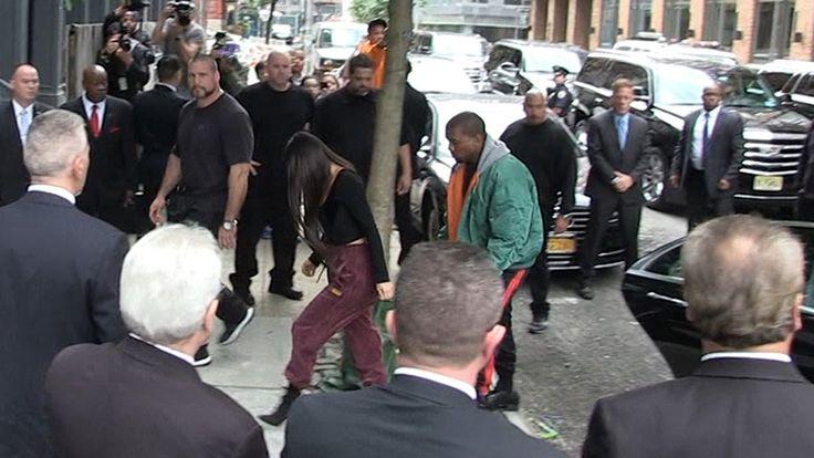 Kim Kardashian llega a Nueva York rodeada de fuertes medidas de seguridad y Kendall viaja para estar con ella