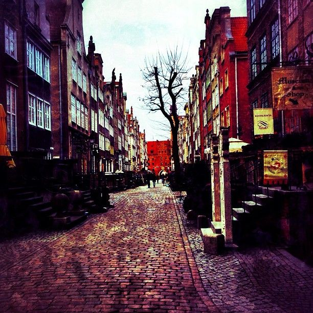 Streets of Gdańsk