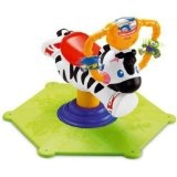 Fisher-Price Go Baby Go! Bounce & Spin Zebra (Toy)By Fisher Price