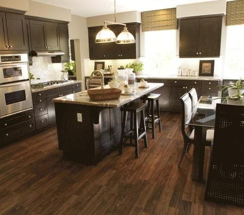 Dark Kitchen Cabinets Light Floors: 51 Best Images About Laminate Floors On Pinterest