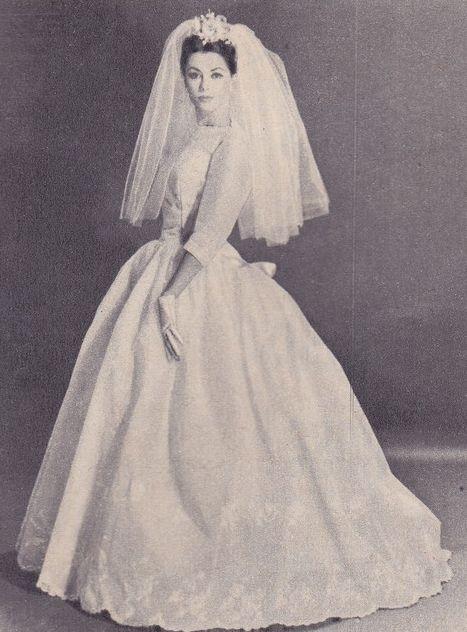 145 best images about 1960s wedding dresses on Pinterest   Vintage ...