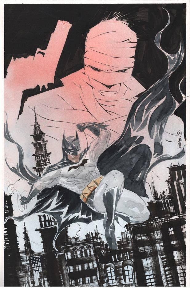 Batman by Dustin Nguyen *