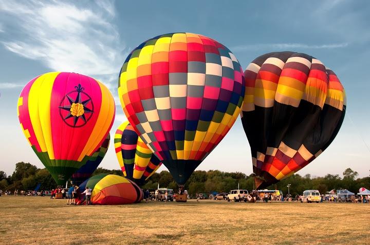 Lions Club Balloon Festival 2011. Highland Village, Texas