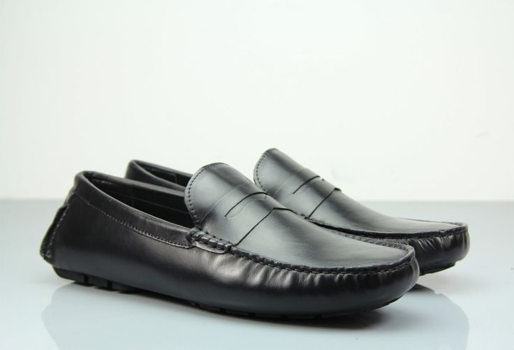 Looking For Loafers to Match Your Formal Attire? Discover Our Fane Flap Black Suede Loafers! #institchu #mensstyle #menswear