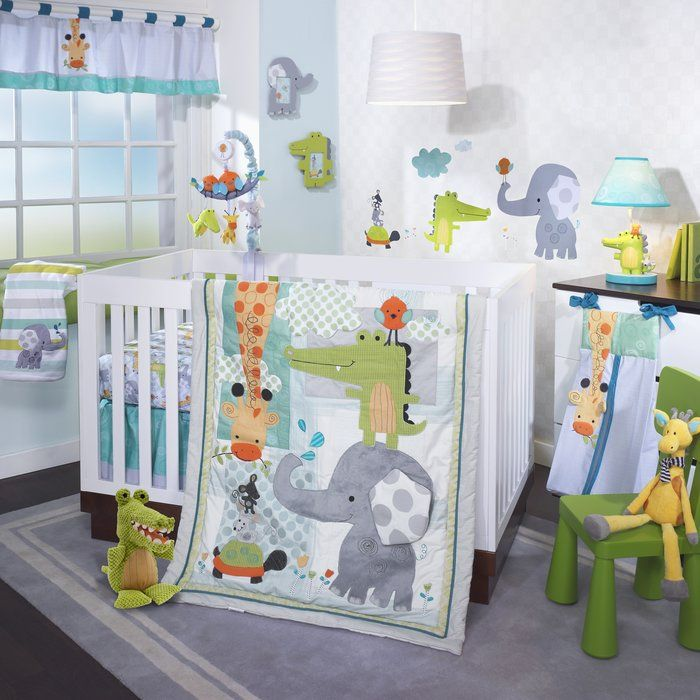 You'll love the Yoo-Hoo 4 Piece Crib Bedding Set at Wayfair - Great Deals on all Baby & Kids products with Free Shipping on most stuff, even the big stuff.