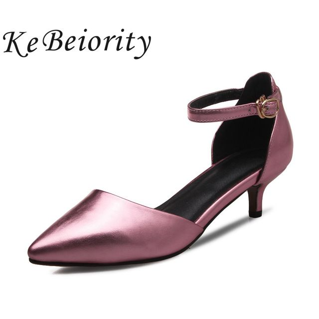 Fair price New elegant women gold prom shoes low heel wedding shoes pointed toe pumps 2017 party shoes for women stiletos mary jane pumps just only $21.33 - 22.26 with free shipping worldwide  #womenshoes Plese click on picture to see our special price for you