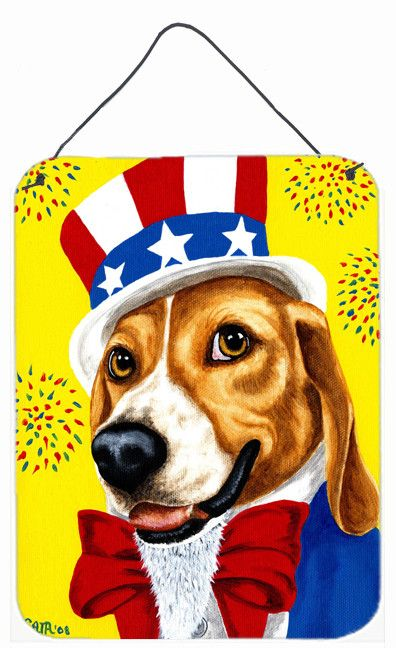Uncle Sam's USA Beagle Wall or Door Hanging Prints AMB1337DS1216