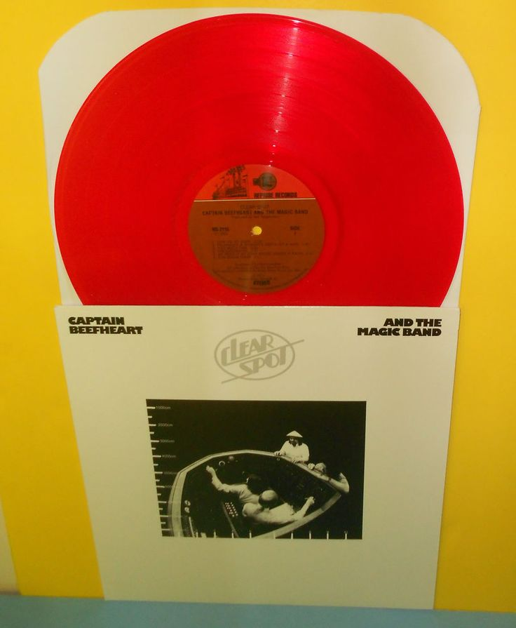 Captain Beefheart And The Magic Band Clear Spot Lp Record