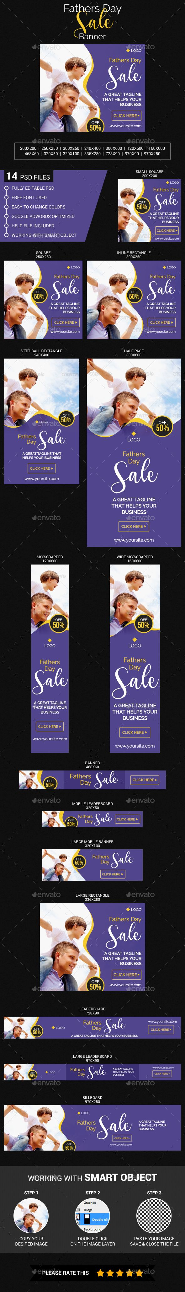 Fathers Day Sale - #Banners & Ads #Web Elements Download here:  https://graphicriver.net/item/fathers-day-sale/20106816?ref=alena994