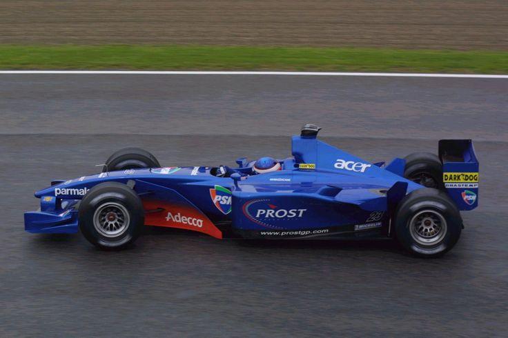 2001 San Marino Prost AP01 Gaston Mazzacane