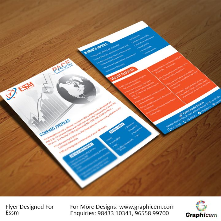 Flyer Designed For Essm