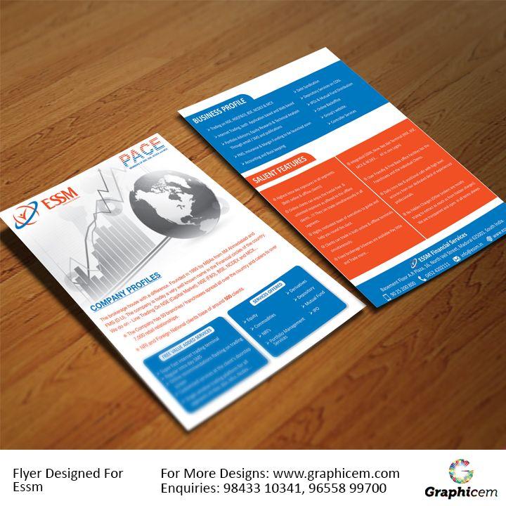 Flyer Designed For Essm