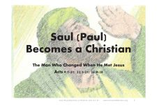 The Conversion of Paul: Bible Story Summary and Application