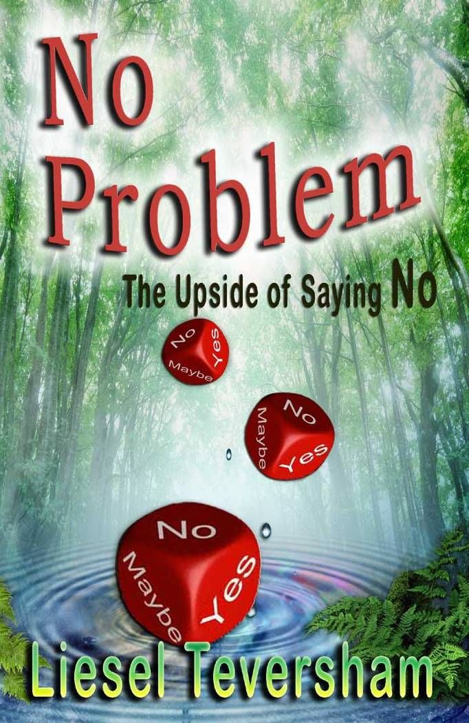 http://bit.ly/1iJzWmk Day # 1 -  Virtual Book Tour - No Problem: The Upside of Saying No. Liesel talks about her journey to writing the book.