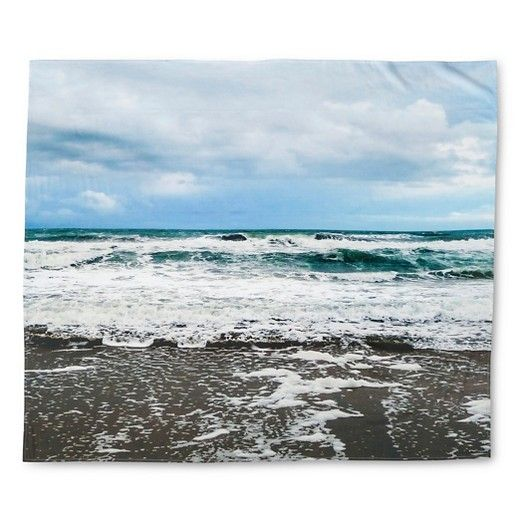 """Sky Blue Still Mediterranean Tapestry (68""""x80"""" ) : Target"""
