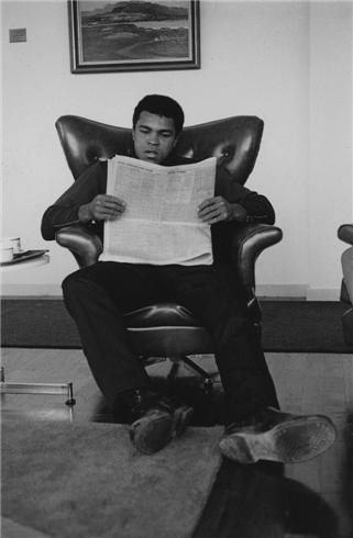 Mohammad Ali by Terry O'Neill