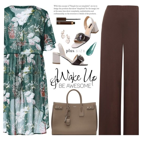 A fashion look from May 2017 featuring WearAll pants and Yves Saint Laurent tote bags. Browse and shop related looks.