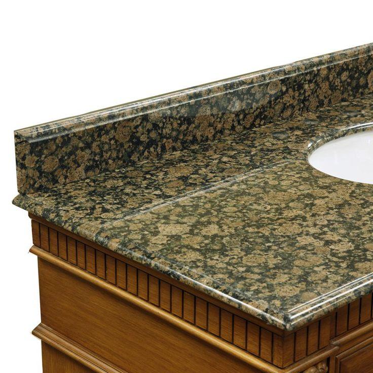 Bellaterra Home 61W in. Granite Backsplash - 603215-62-BB-BACKSPLASH