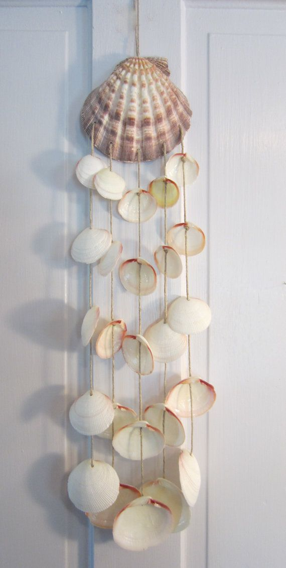 Seashell Windchime by Bitsofthebeach on Etsy, $18.50