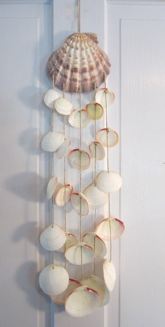 Seashell Windchime by Bitsofthebeach on Etsy, $18.50                                                                                                                                                                                 More