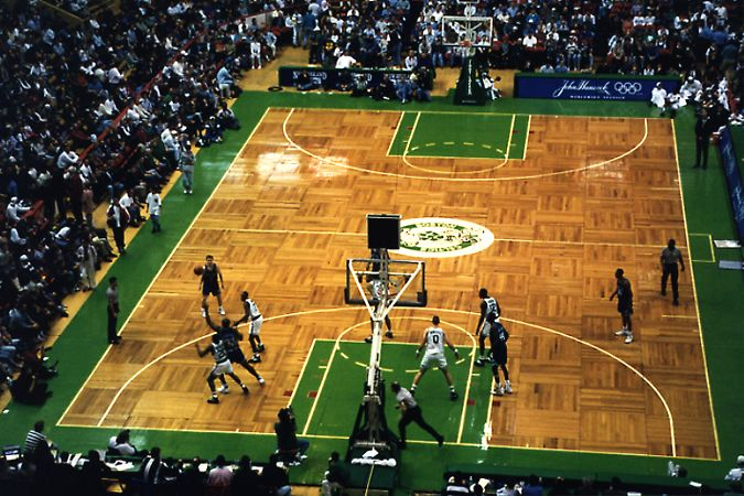 The Most Famous Parquet Flooring in America: The Boston Garden. History of the Parquet Floor