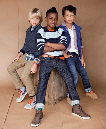 Stefano Azario For Gap Kids & Baby Gap SS13