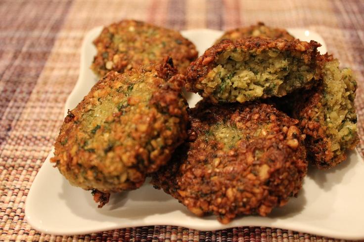 ... mashed.) season w/ salt, pepper, coriander & cumin. Pan fry or bake