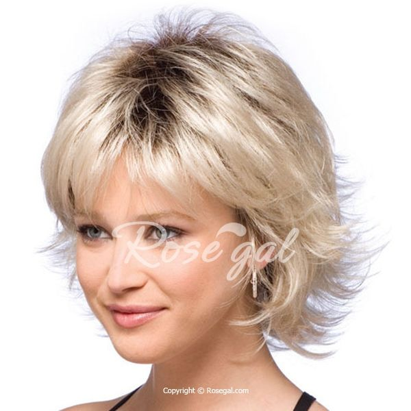 Endearing Side Bang Slightly Wavy Short Synthetic Wig For Women
