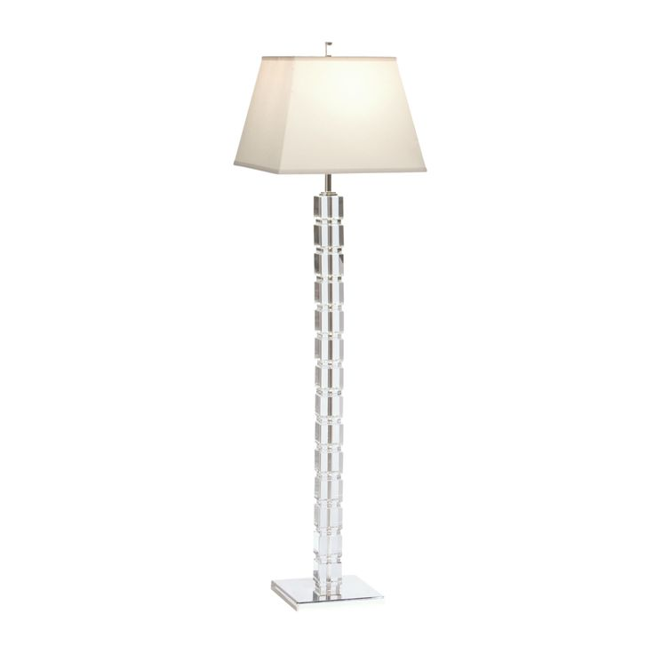Ethan allen crystal blocks floor lamp dimension w x l x h item 092538
