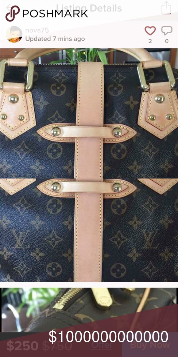 WATCH OUT FOR THW SCAMMER That's the user is Using somebody's pictures and selling it at low price. Be very careful Ladies as she dont own the pictures and Items.  Please share. Louis Vuitton Bags Satchels